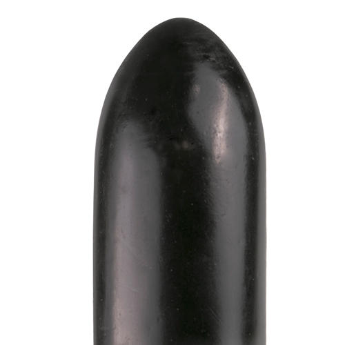 All Black Dildo 22,5 cm in Schwarz